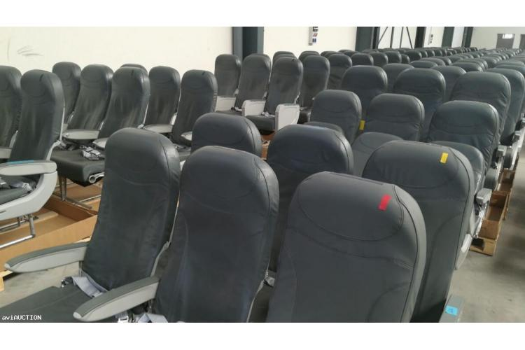 180 PAX Recaro Seats Model 3510A 377 Series for A320 Fam.