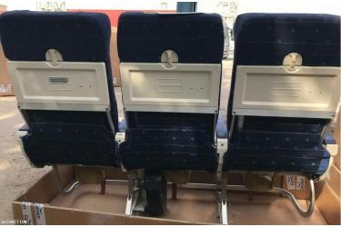 Zodiac Aerospace Economy seats model 9576 for A318/A319/A320/A321 180 PAX