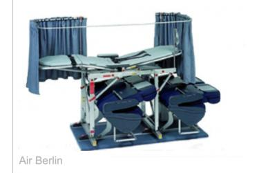 Ex. Air Berlin Bucher Stretcher for A320, A330/A340, B737CL, B737NG, B757, B767 and B747